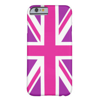 Pink & Purple Union Jack/Flag Barely There iPhone 6 Case
