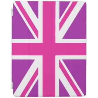 Pink & Purple Union Jack/Flag iPad Cover