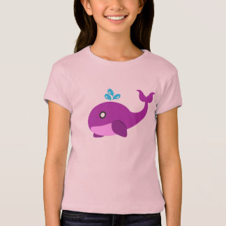 Pink & Purple Whale T-Shirt