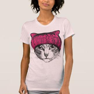 Pink Pussycat Pussyhat Womens Shirt