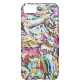 Pink Quetzalcoatl (abstract expressionism) Case For iPhone 5C