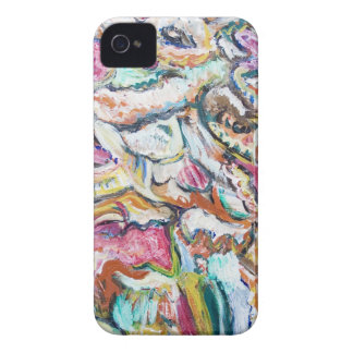 Pink Quetzalcoatl (abstract expressionism) iPhone 4 Cover