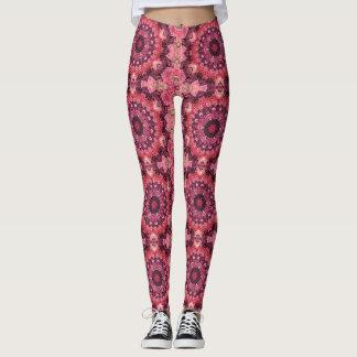 Pink Quilt Leggings