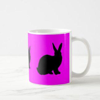 Pink Rabbit Mug