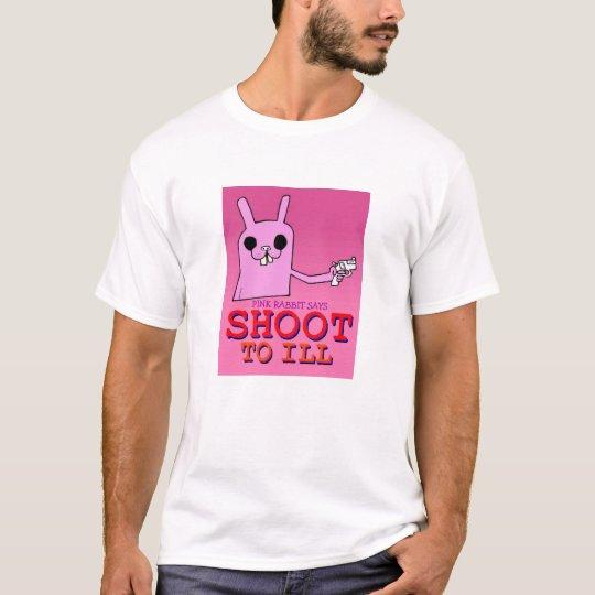 Pink Rabbit Says T-Shirt