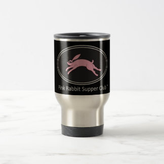 Pink Rabbit Supper Club Travel/Commuter Mug