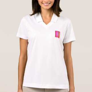 Pink Rain Art Polo Shirt