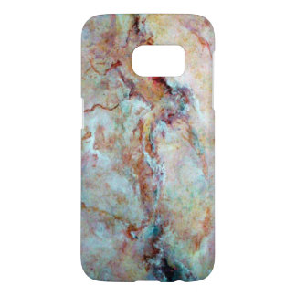 Pink rainbow marble stone finish