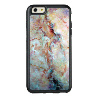 Pink rainbow marble stone finish OtterBox iPhone 6/6s plus case