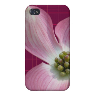 Pink/Raspberry Plaid Dogwood Case Case For iPhone 4