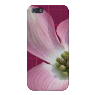 Pink/Raspberry Plaid Dogwood Case iPhone 5 Cases