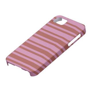 Pink / Raspberry Stripes custom iPhone case
