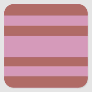 Pink / Raspberry Stripes custom stickers
