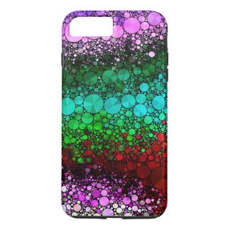 Pink Red Bling Abstract iPhone 7 Plus Case