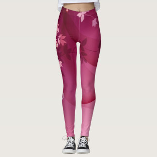 Pink \ Red Leggings