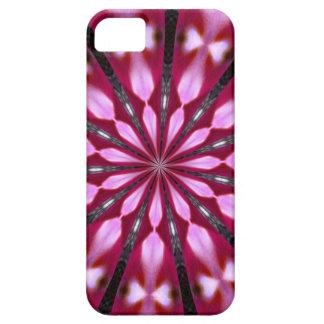 Pink Redbud Medallion iPhone 5 Case