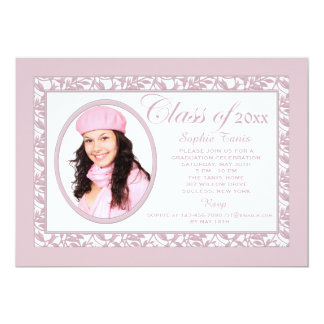 Pink Reflection Photo Invitation