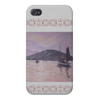 Pink Reflections painting iphone case iPhone 4/4S Cover