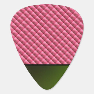 Pink Repeating Background Plectrum
