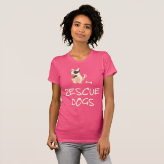 Pink Rescue Dogs Shirt