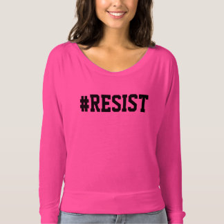 Pink #RESIST T-Shirt