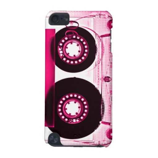 Pink Retro Mixtape Cassette for iPod Touch iPod Touch (5th Generation) Case