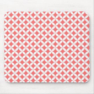 Pink Retro pattern mousepad