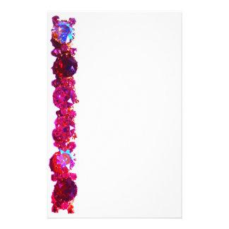 Pink Rhinestones  - vintage jewelry Personalised Stationery
