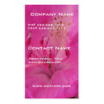 Pink Rhododendron Business Card