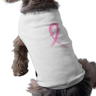 Pink Ribbon 2 Breast Cancer Pet Shirt