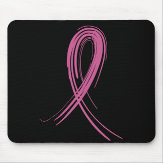 Pink Ribbon 2 Breast Cancer Mouse Mat