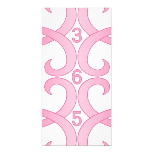 Pink Ribbon 365 Photo Greeting Card
