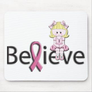 Pink Ribbon Bonnie Mousemat