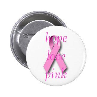 Pink Ribbon Breast Cancer Awareness Pins