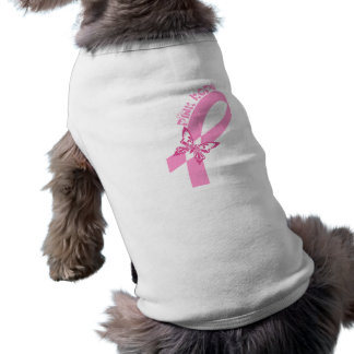 Pink Ribbon Breast cancer awareness Dog Clothes