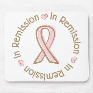 Pink Ribbon Breast Cancer In Remission Mouse Pads