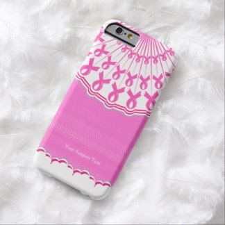 Pink Ribbon Breast Cancer Support Barely There iPhone 6 Case