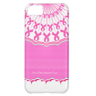 Pink Ribbon Breast Cancer Support iPhone 5 C Case