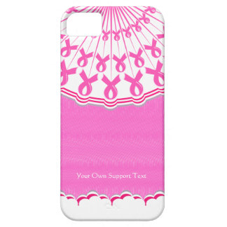 Pink Ribbon Breast Cancer Support iPhone 5 Case