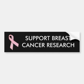 Pink Ribbon - bumper sticker