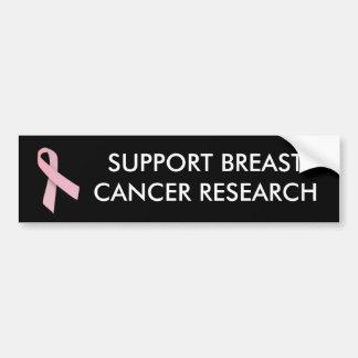 Pink Ribbon - bumper sticker