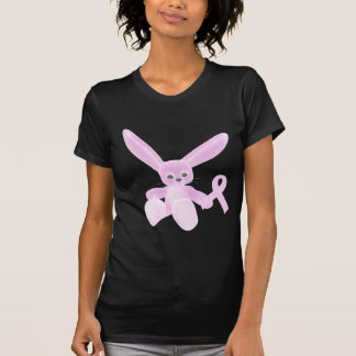 Pink Ribbon Bunny Tshirts