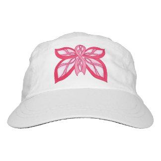 Pink Ribbon Butterfly - Cap