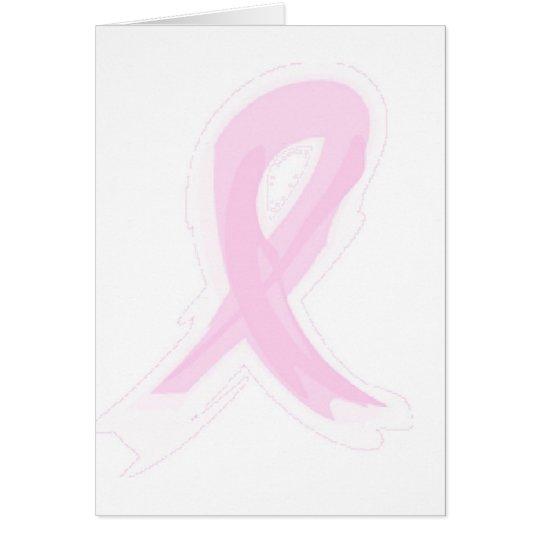Pink Ribbon Card