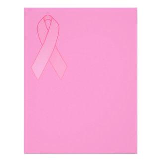Pink Ribbon Custom Invitations