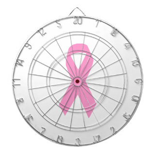 Pink Ribbon Dartboard