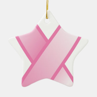 Pink Ribbon Ornaments