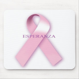 Pink Ribbon Esperanza Mouse Pad