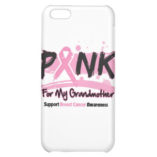 Pink Ribbon For My Grandmother Breast Cancer iPhone 5C Cases