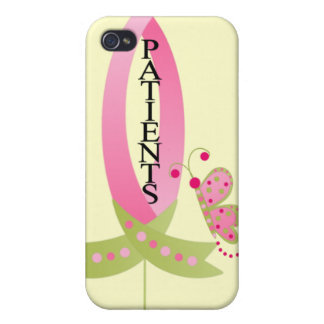 Pink Ribbon for Patients iphone 4 Case